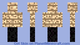Oak wood planks and Obsidian for Evow_ (request) Minecraft Skin