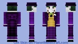 The Joker - The Killing Joke || Skin Request Minecraft Skin