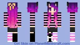 Celie Remake ( For Le BunnieRoseSama's Contest ^-^ ) Minecraft Skin