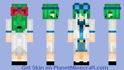 Fanji Oc (Labcoat) Minecraft Skin