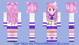 Nepgear Minecraft Skin