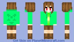 Chara (OC?) Minecraft Skin