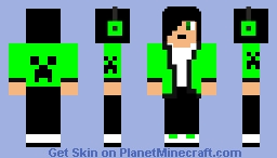 mob boy creeper Minecraft Skin
