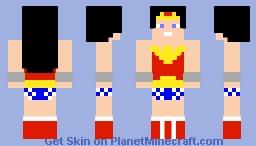 Wonder Woman [Justice League] Minecraft Skin