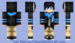 Hoodie Boy Minecraft Skin