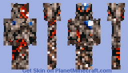 Zeromus (Final Fantasy IV Final Boss) Minecraft Skin