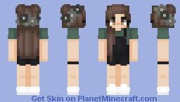 turquoise Minecraft Skin