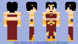 Baress Daughter of Broly Minecraft Skin