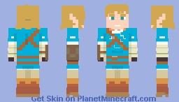 BOTW - Link Minecraft Skin
