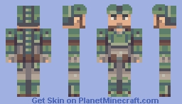 Human Soldier 2: Electric Boogaloo Minecraft Skin