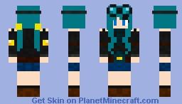 DanTDM (Female) Minecraft Skin