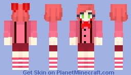 Human Bonnet (FNaF SL) Minecraft Skin