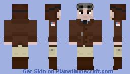WWI US Pilot Minecraft Skin