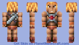 He-Man (Masters of the Universe) Minecraft Skin