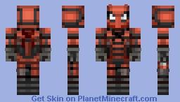 Spi-Devil Minecraft Skin