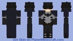 Batman (Gotham By Gaslight) Minecraft Skin