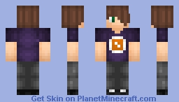 Random Person #8 - JaxSkins - Series 2 Minecraft