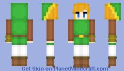 Link - The Legend of Zelda A Link Between Worlds Minecraft