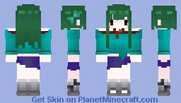 Minecraft Girl | Zombie Minecraft Skin