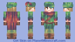 Robin Hood Minecraft Skin