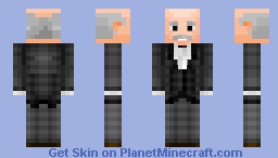 Alfred Pennyworth Minecraft Skin