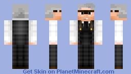 Alfred Pennyworth // BvS Variant Minecraft Skin