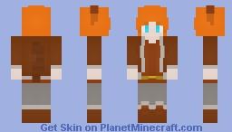 Squirrel Girl (Doreen) (Marvel) Minecraft Skin