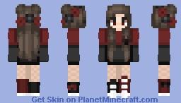 The Haunting (My Oc) ~ Kalnz Minecraft Skin