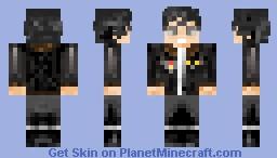 USN G-1 Flying Jacket + Aviators Minecraft Skin