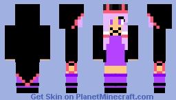 Vocaloid3 Yuzuki Yukari     {Lola} Minecraft Skin