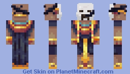 Cultist of the Great Old Ones Minecraft Skin