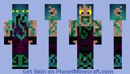 Lord Dagon of the deep sea Minecraft Skin