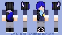 Female Ein (From Aphmau Phoenix Drop High) Minecraft Skin