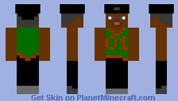 Grove Street 01 Minecraft Skin