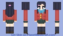 Honoka Yukishiro - Futari Wa Pretty Cure Minecraft Skin