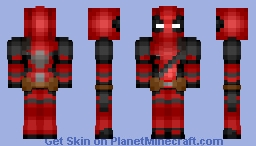 Deadpool [Requested By Zonobot] Minecraft Skin