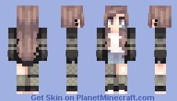 Teared Up Minecraft Skin
