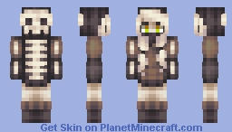 Spooky Scary Skeletons Minecraft Skin