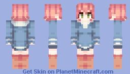 Mother 3 -- Kumatora Minecraft Skin