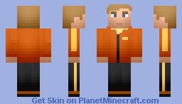 David Haller [Legion] Minecraft Skin