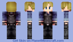Leon S. Kennedy China Minecraft Skin
