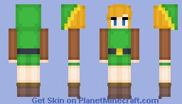 Link - The Legend of Zelda A Link to the Past Minecraft