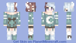 Loved by the Moon Minecraft Skin