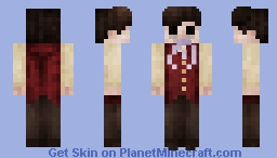 And so I cried out to a sky that didn't care. Minecraft Skin