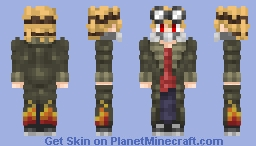 My Coat is on Fire~ Minecraft Skin