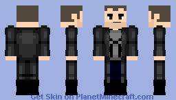 The Punisher MCU Minecraft Skin