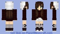 Cute Plaid Minecraft Skin