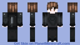 Look, Mum, An Edgy Teen. Minecraft Skin