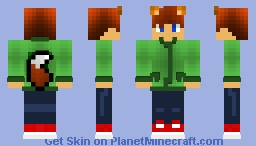 Fox Boy Minecraft Skin