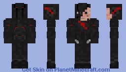 Black Flash(CW) Minecraft Skin